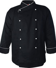 RB Long Sleeve Chef Jacket RB Long Sleeve Chef Jacket Black 20