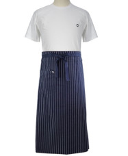 Long Style Long Style Apron Professional Blue